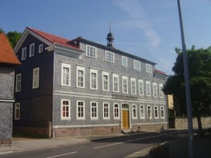 Die Alte Schule in Frankenhain, Theuringen